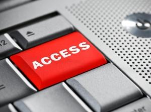 Access key on a laptop